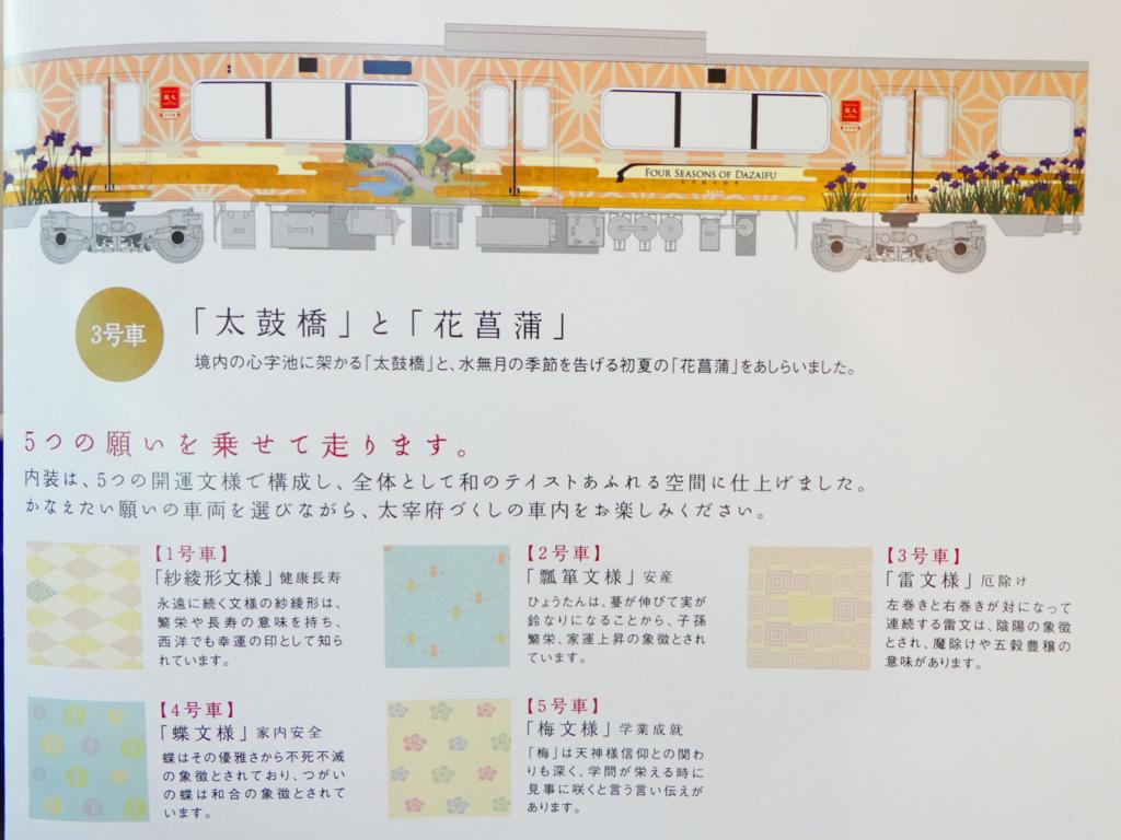 太宰府観光列車 旅人