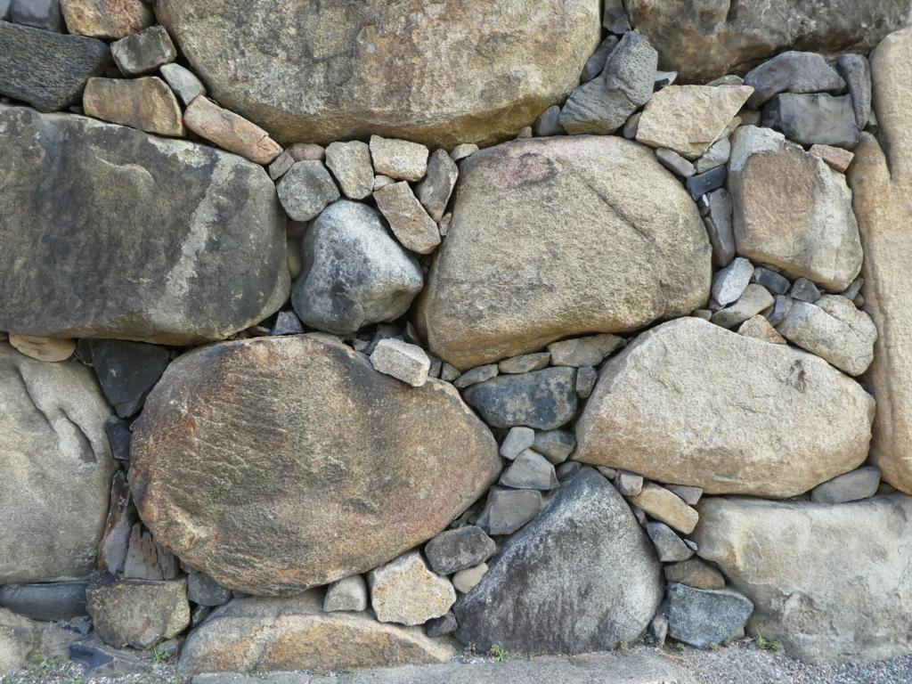 高松城 石垣
