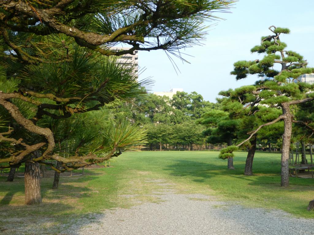 高松城 桜の馬場
