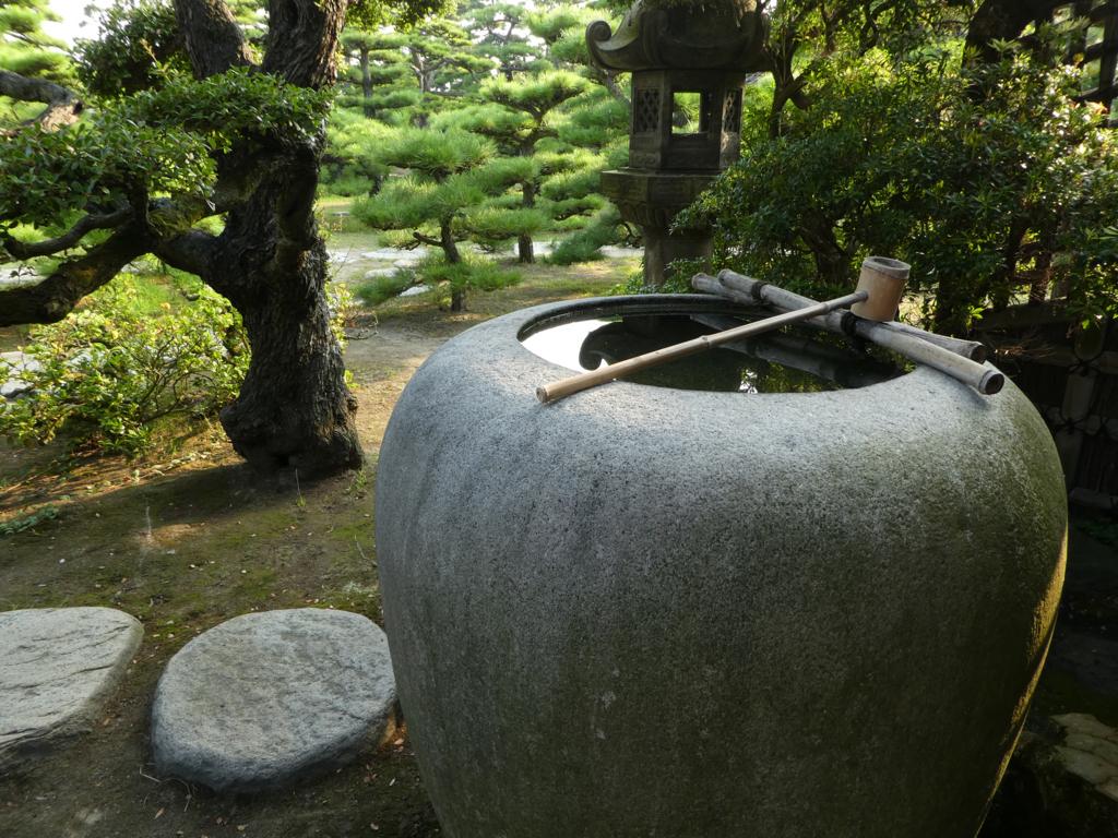 披雲閣 庭園
