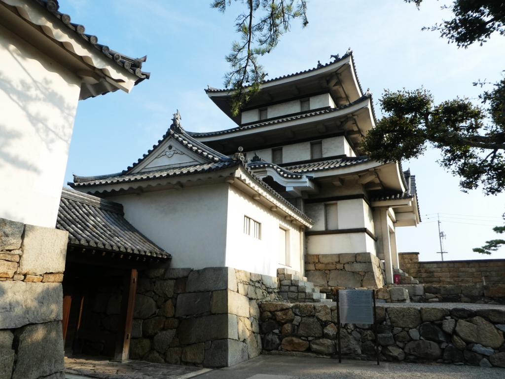 高松城北之丸月見櫓