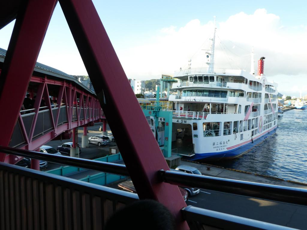 桜島納涼観光船 2018