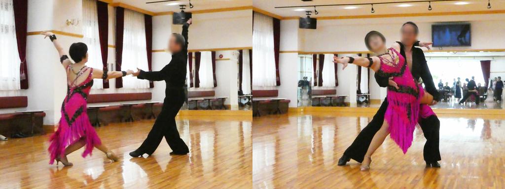 社交ダンスの発表会