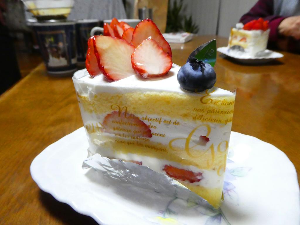森三 ショートケーキ