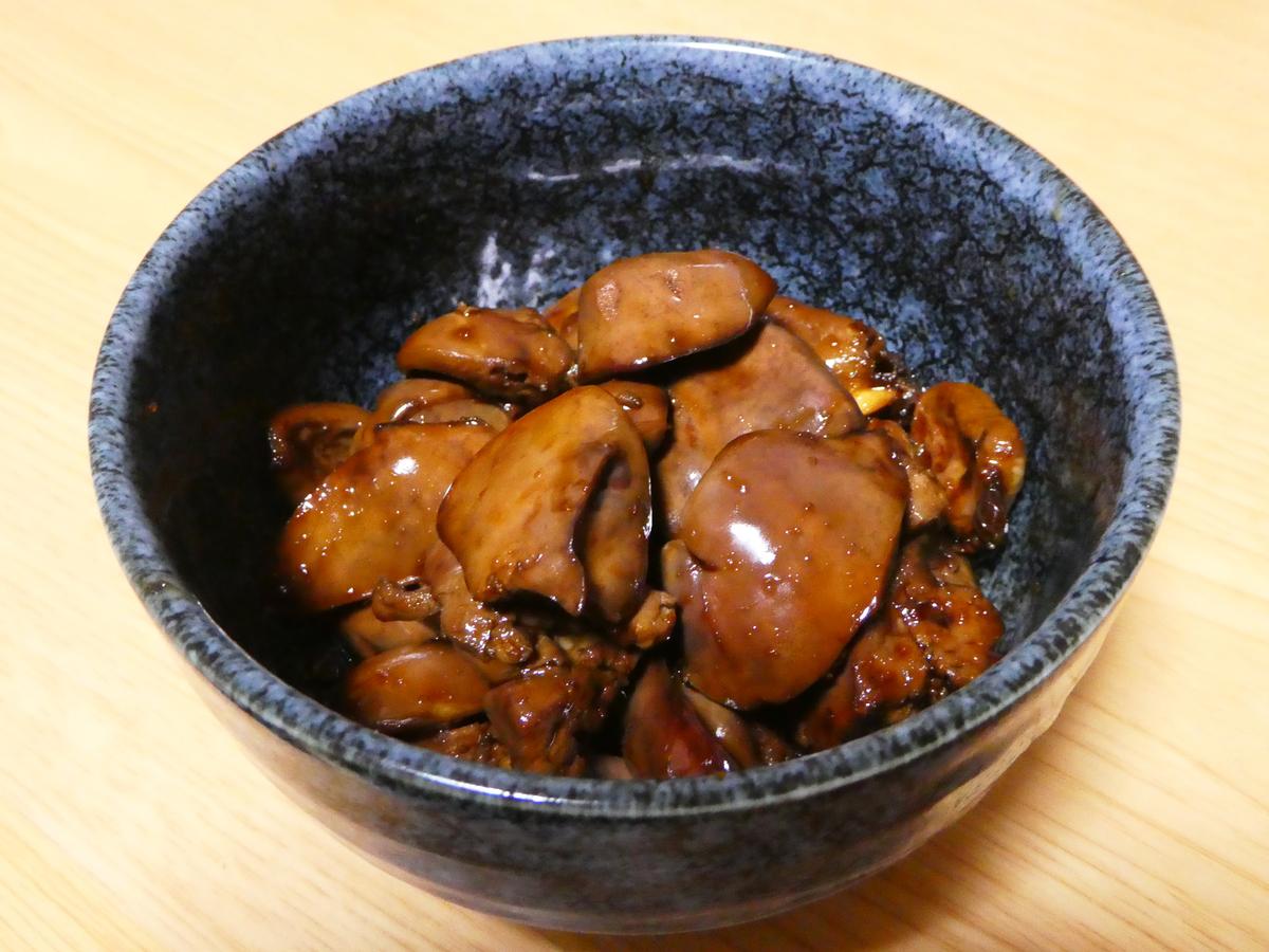 鶏レバー ふっくら煮