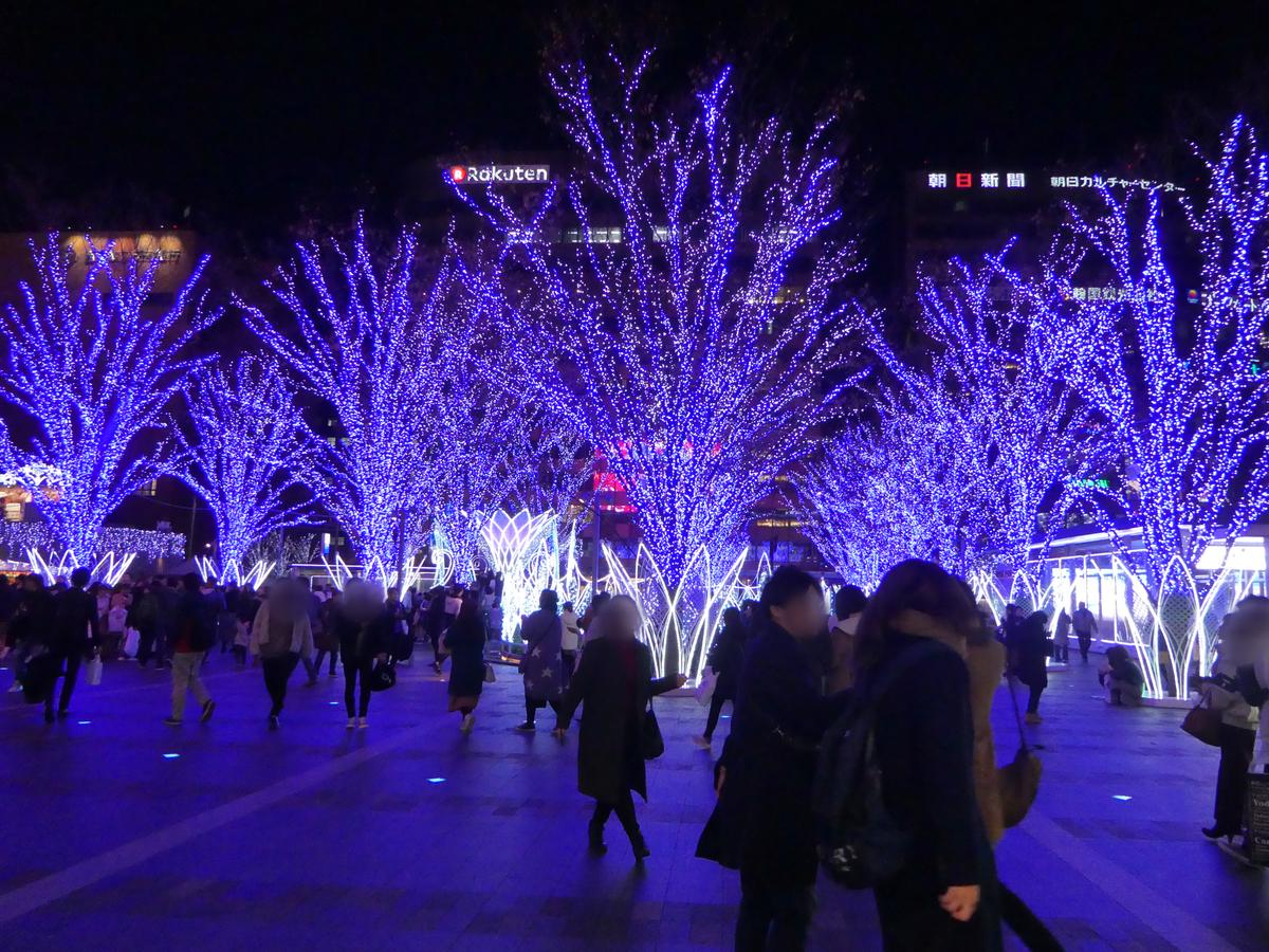 博多駅イルミネーション 2019