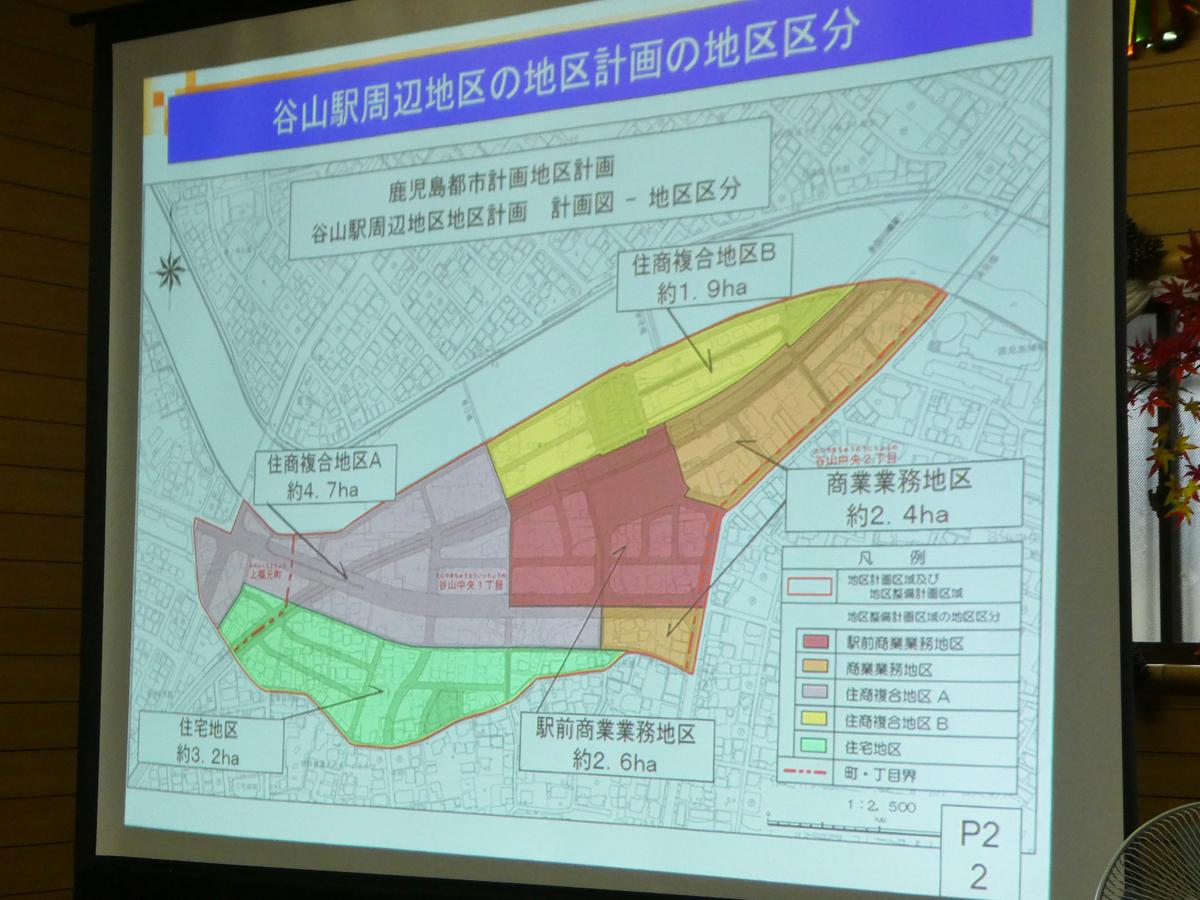 谷山駅周辺地区 区画整理