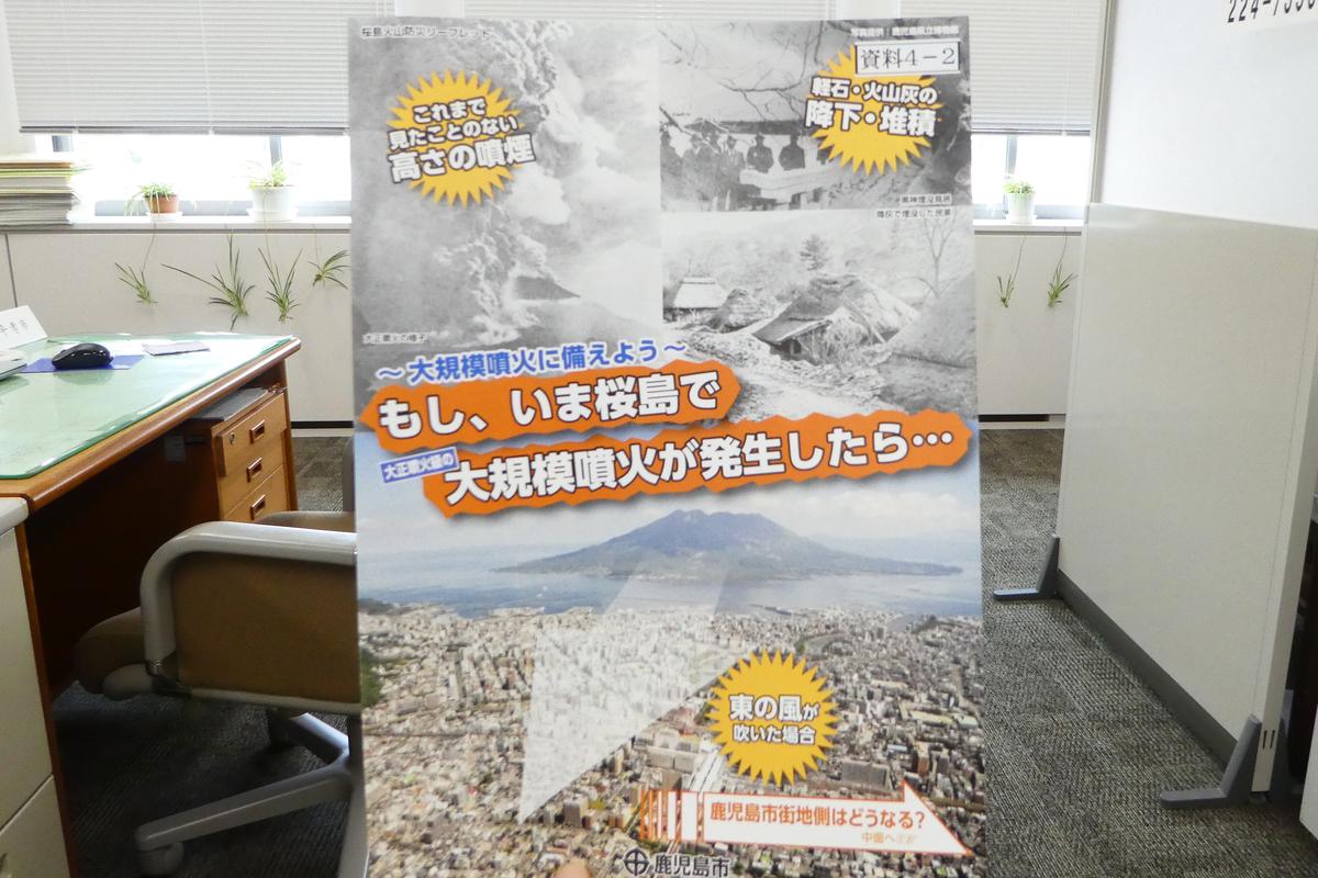 桜島爆発対策 鹿児島市
