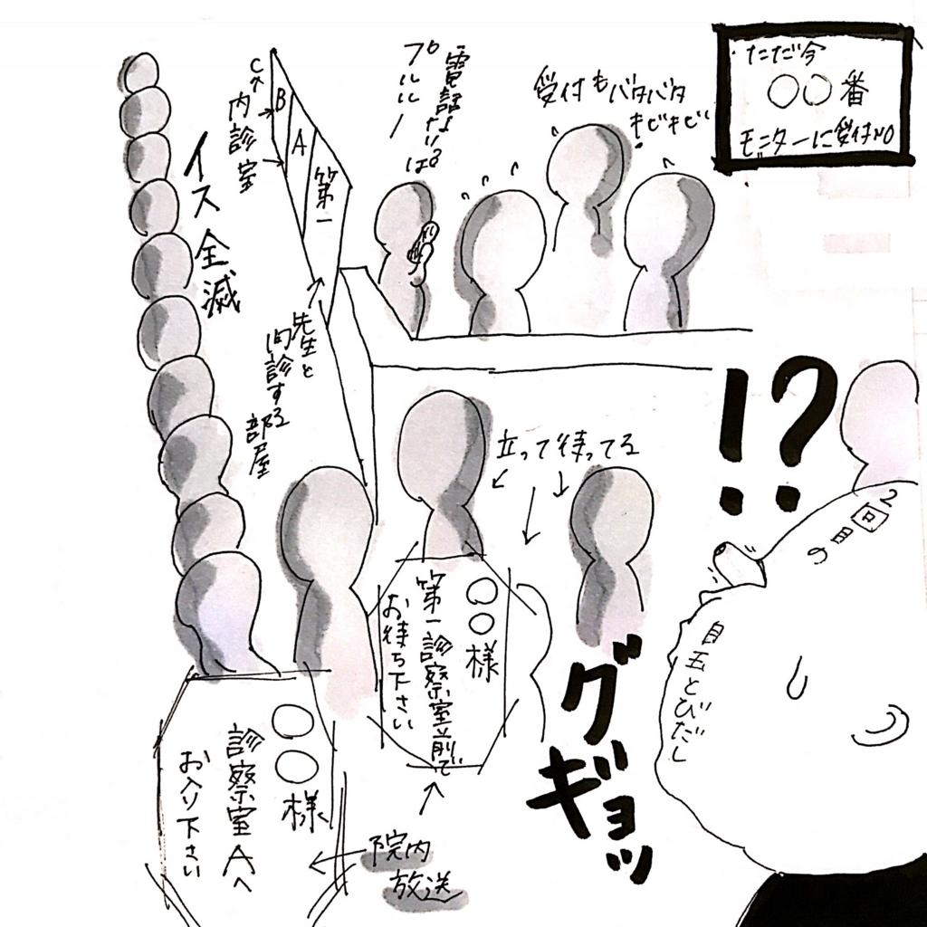 神奈川LCの待合室の様子