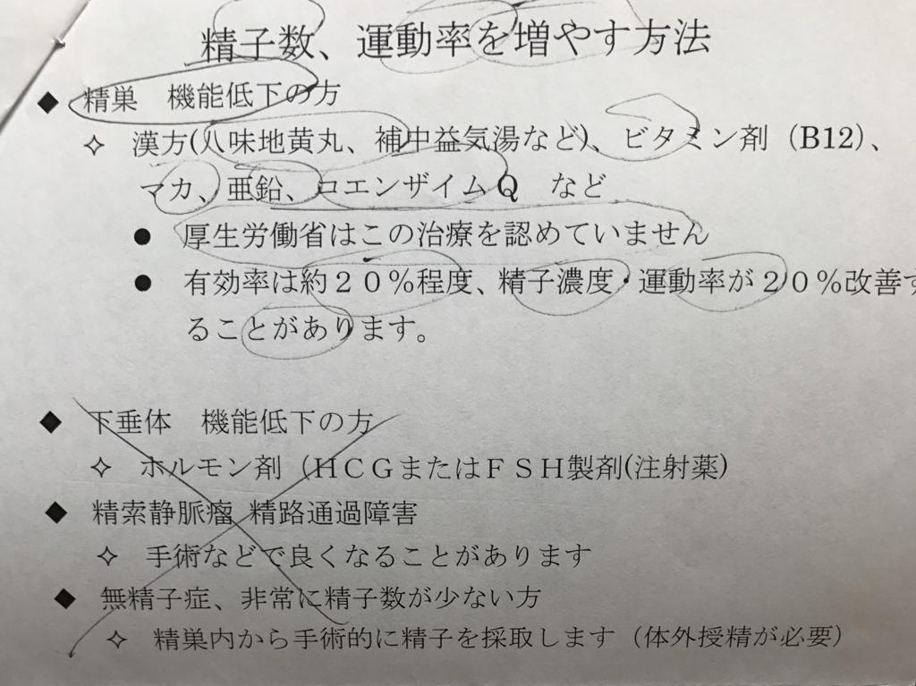 泌尿器科での精液検査2