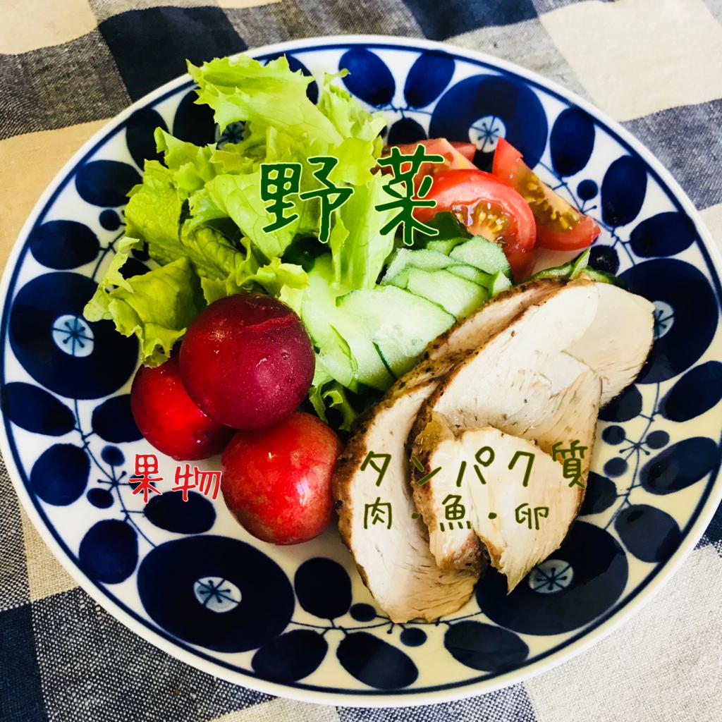 妊娠糖尿病食サラダ