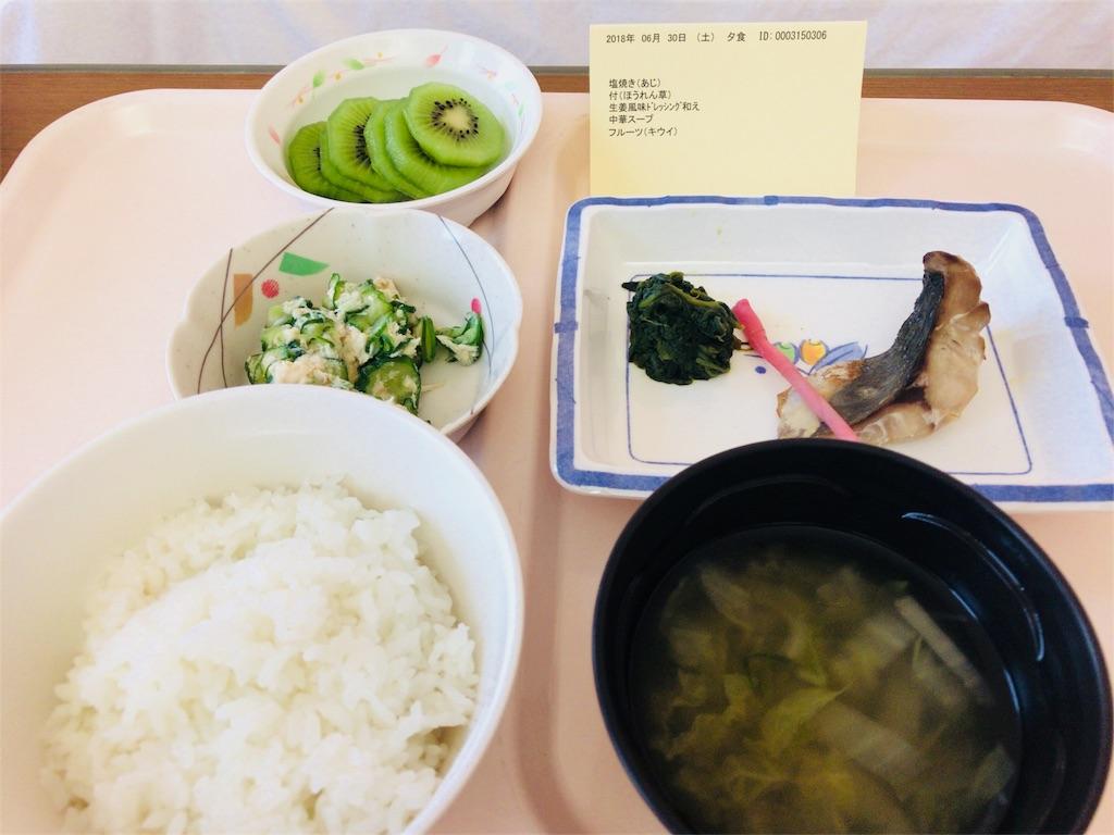 出産五日目妊娠糖尿病昼食