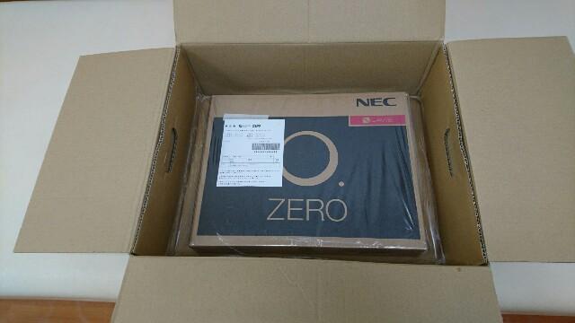 LAVIE Hybrid ZERO HZ750/GA到着しました。