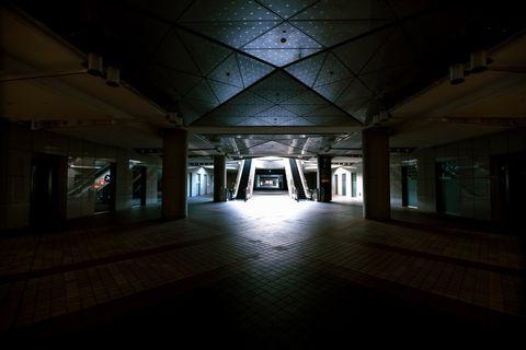 東京ビッグサイト1F入口。