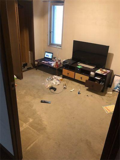 ミニマリストの部屋。
