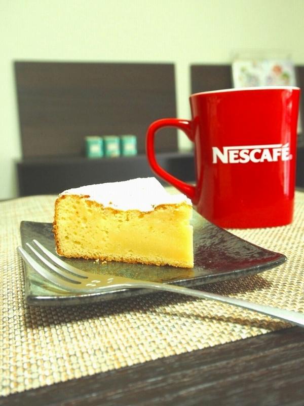 白あんで作る、白いガトーショコラ