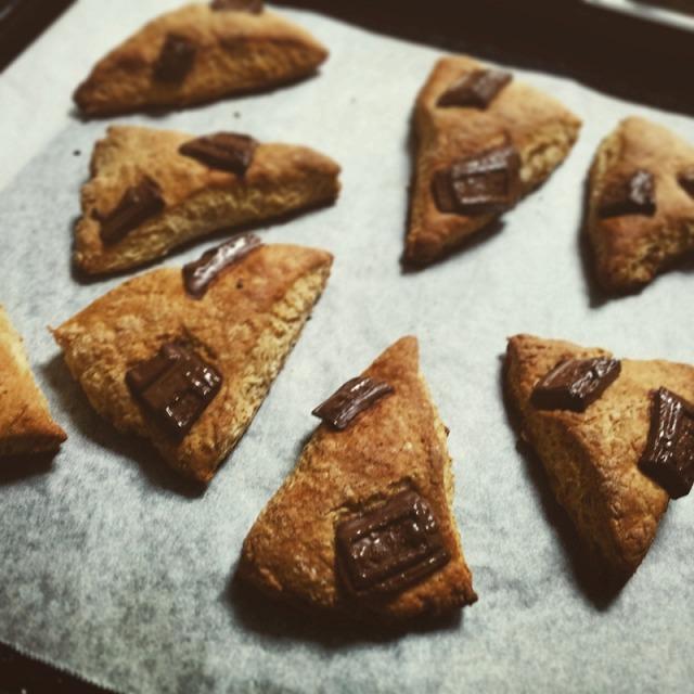 ホットケーキミックスとヨーグルトで作るスコーン