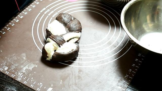 ゼブラ食パン工程6