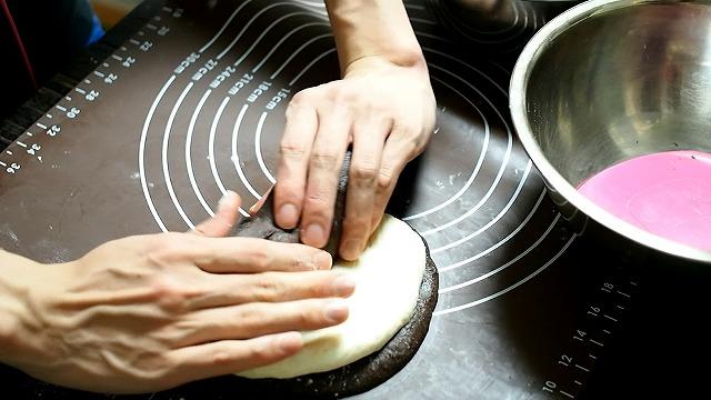 ゼブラ食パン工程4