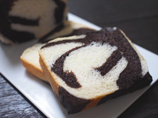ゼブラ食パン3