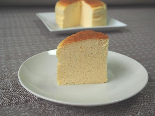 スフレチーズケーキ1
