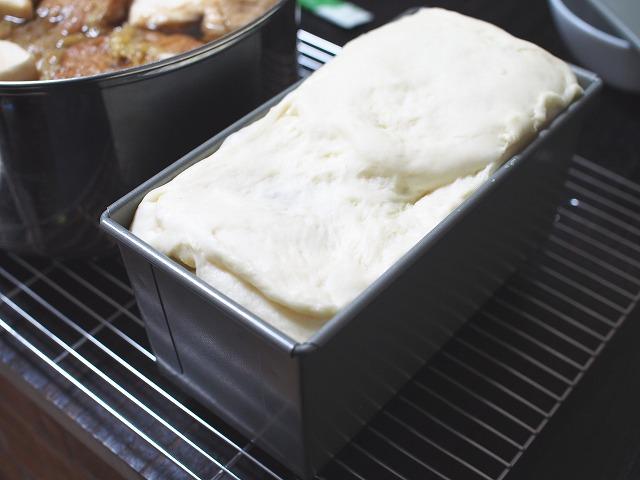 サツマイモとリンゴの食パン工程8