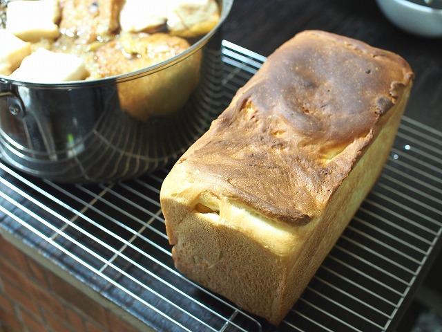 サツマイモとリンゴの食パン工程9