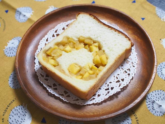 サツマイモとリンゴの食パン3