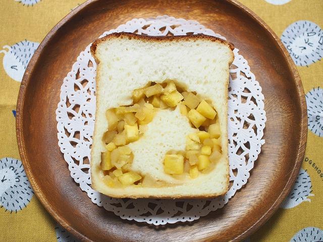 サツマイモとリンゴの食パン2
