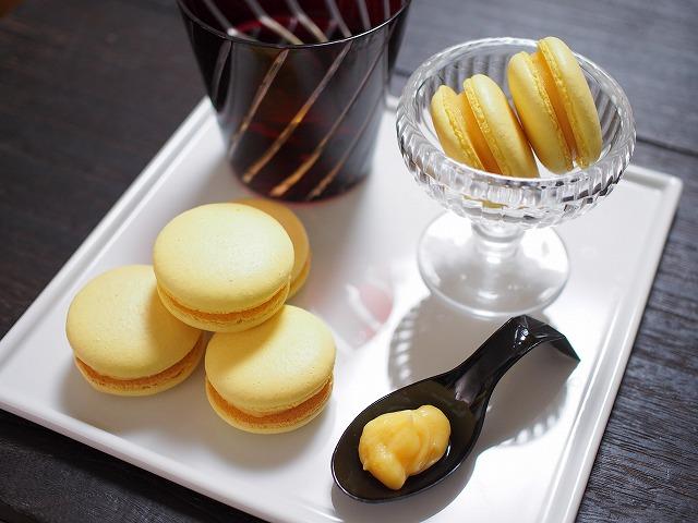 柚子のマカロン1