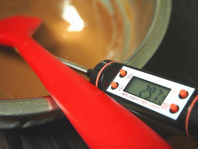 テンパリング29℃