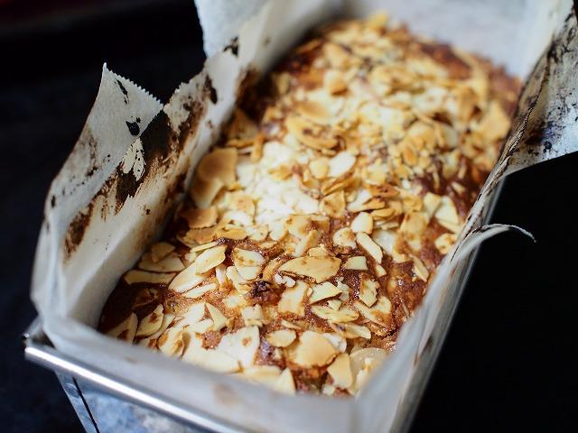 りんごとアーモンドのケーキ工程6