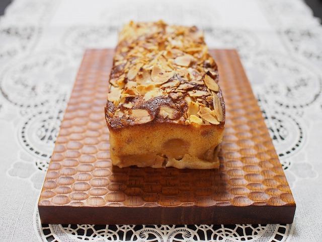 りんごとアーモンドのケーキ3