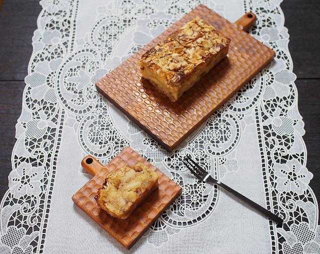 りんごとアーモンドのケーキ2