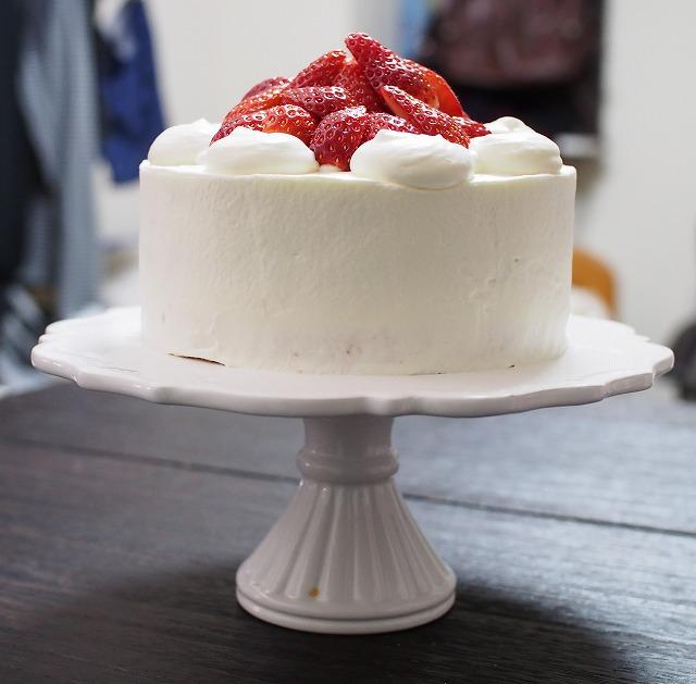 いちごのケーキ3