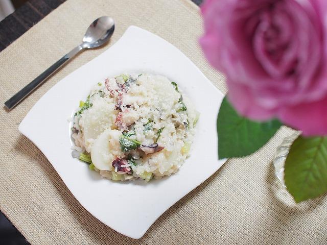 料理と花2