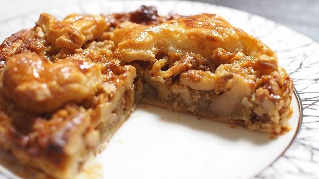 メープルキャラメルナッツパイ3