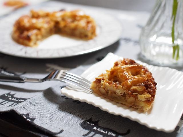 メープルキャラメルナッツパイ