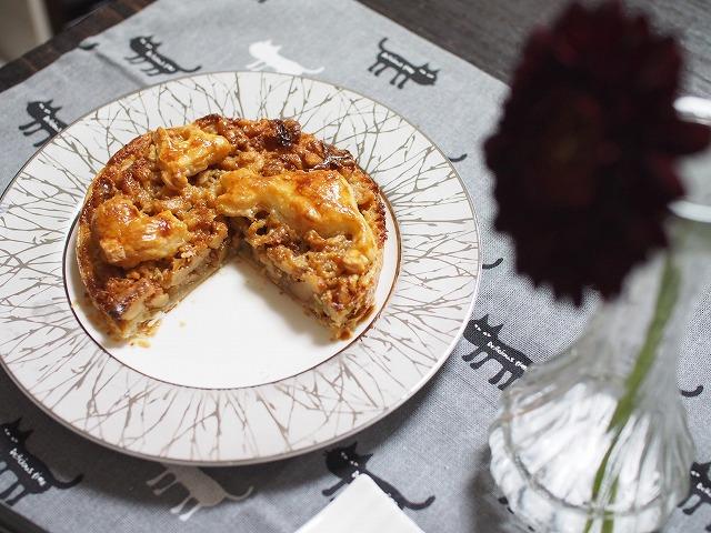 メープルキャラメルナッツパイ4