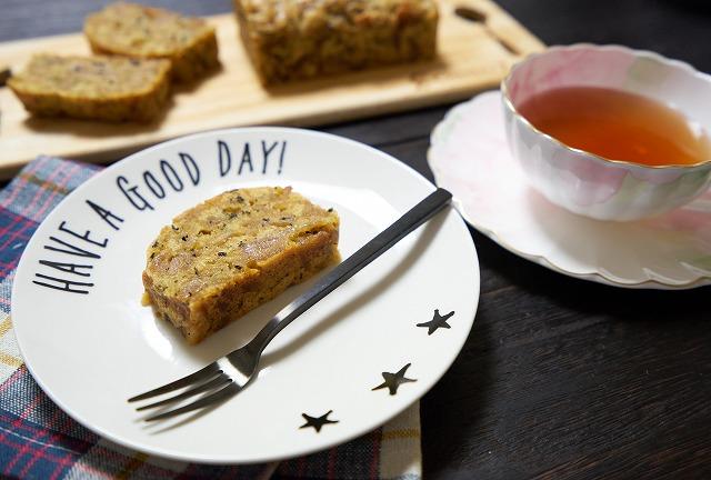 林檎と紅茶のケーキ