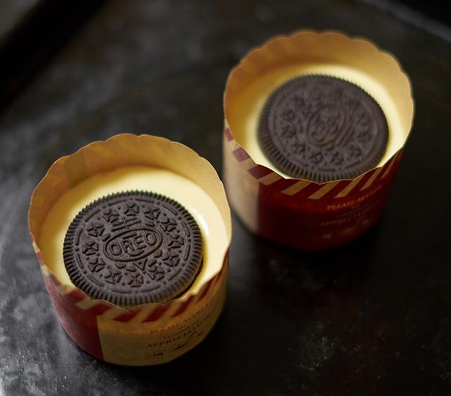 ひとくちオレオチーズケーキ マフィンカップバージョン焼く前