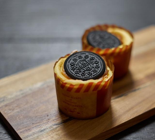 ひとくちオレオチーズケーキ マフィンカップバージョン
