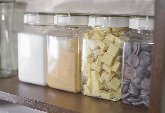 フレッシュロックは砂糖やチョコレートにも使えます