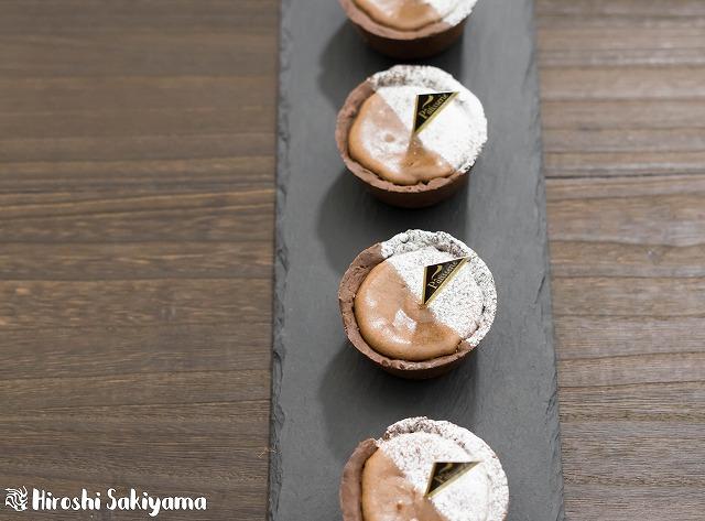 マフィン型でつくるチョコチーズタルト4