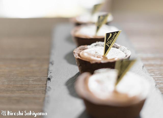 マフィン型でつくるチョコチーズタルト5