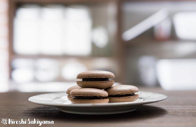 スイスメレンゲで作るチョコマカロン3