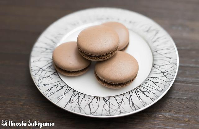スイスメレンゲで作るチョコマカロン2