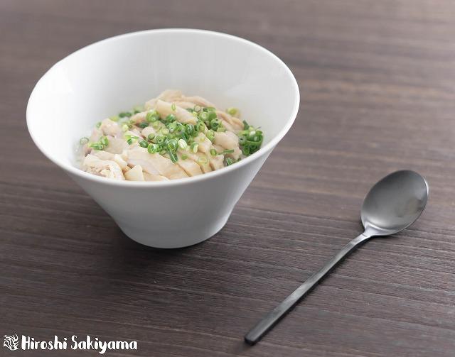鶏と生姜の中華粥2