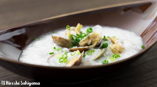 あさりの中華粥2