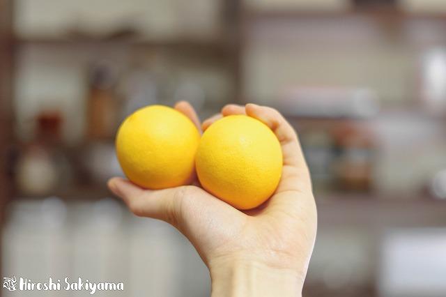 きれいなレモン
